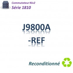 HPE/Aruba 1800 Refurbished Switch 7x 10/100_1G