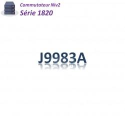 HPE/Aruba 1820 Switch 24G_2SFP/Fast Ethernet_12PoE+(185w)
