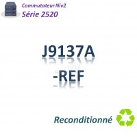 HPE/Aruba 2520 Refurbished Switch 8x 10/100_2SFPcombo _PoE(67w)