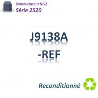 HPE/Aruba 2520 Refurbished Switch 24x 10/100_2G_2SFPcombo _PoE(195w)