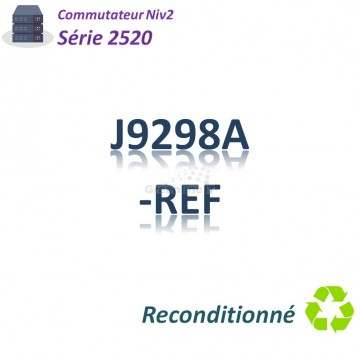 HPE Refurb Switch 2520_ 8x port GE_2 port SFP combo_8PoE 67w