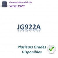 HPE/Aruba 1920 Switch 8G_2SFP_PoE+(180w)