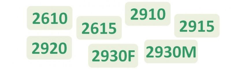 Niveau 3 RIP Séries 2610_2615_2910_2915_2920_  2930F_2930M
