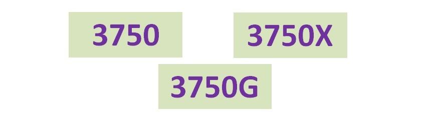 Séries 3750 (3750_3750G_3750X)