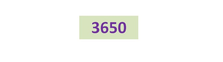 Série 3650
