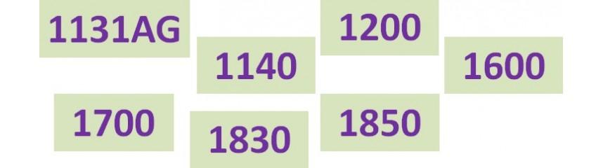 Séries 1131AG_1140_1200_   1600_1700_1830_1850