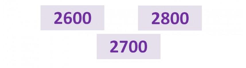 Séries 2600_2700_2800
